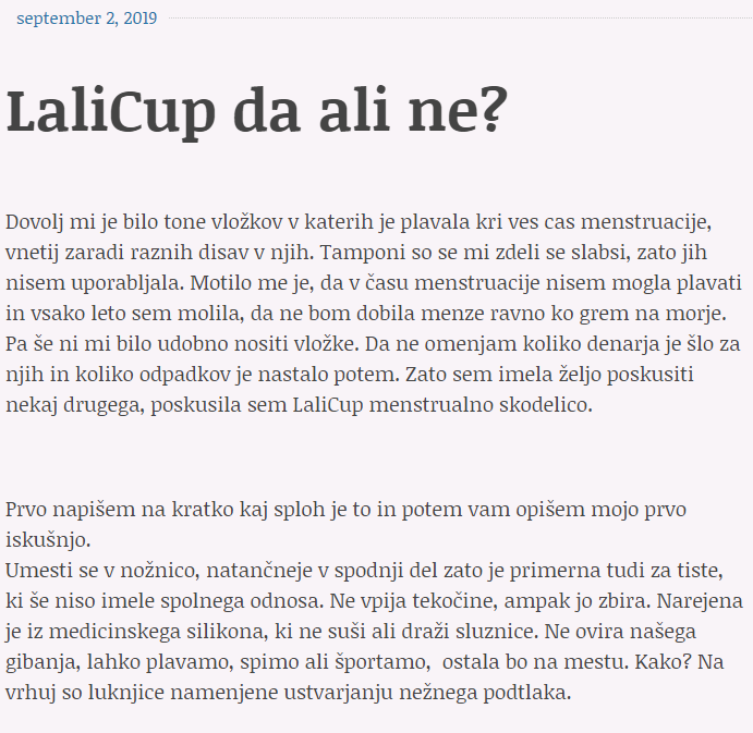 LaliCup da ali ne 1