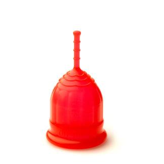 menstrualna posodica rdeča S